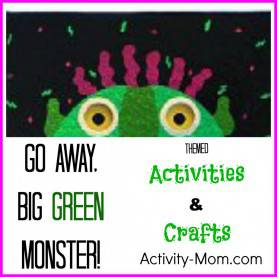 Good Green Lesson Plans For Toddlers The Activity Mom - Go Away Big Green Monster Activities - Th