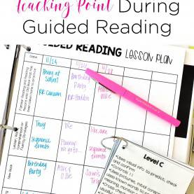 Good Guided Reading Teaching Points Identifying A Teaching Point During Guided Reading - Mr