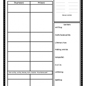 Good High School Math Lesson Plan Template Crazy For First Grade: Back To School- The First Day In First Grad