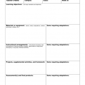 Good Lesson Plan Sample High School School Lesson Plan Template - Commonpenc