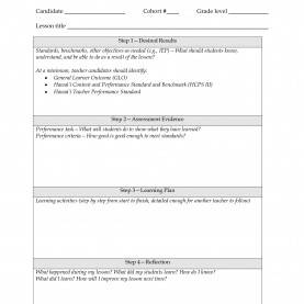 Good Lesson Plan Template Danielson Pdf Marzano Lesson Plan Template Doc - Templates : Resume Example