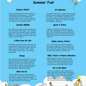 Good Lesson Plans For Preschool Summer Theme Smart Starts Day School Preschool Summer Camp | Smart Starts da