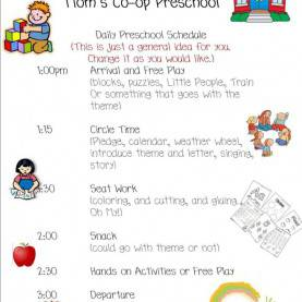 Good Preschool Daily Schedule Template Preschool Daily Schedule | Daycare Lessons | Pinterest | Schedul