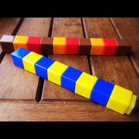 Good Preschool Math Manipulatives Two-Part And Three-Part Patterns - The Curriculum Ch