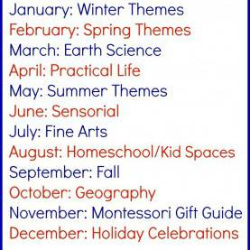 Good Preschool Monthly Themes Monthly Themes Cale