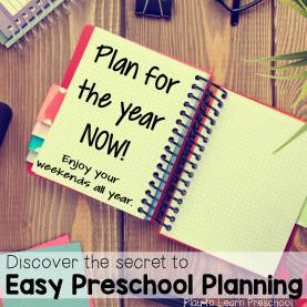 Good Preschool Themes For The Year Save Your Sanity: Plan Themes For The