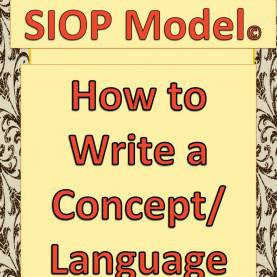 Good Siop Features Checklist 19 Best Images About Sheltered Instruction On Pinterest | Englis