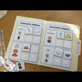 Great Community Helpers Activities Community Helper File Folder Activities | Community Helper