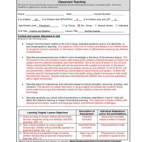 Great Edtpa Lesson Plan Template 2018 Luxury Unit Lesson Plan Template   Best Templ