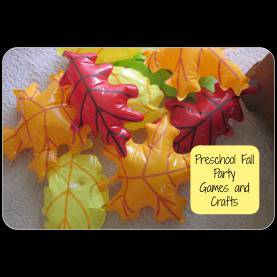 Great Fall Preschool Party Ideas Preschool Fall Party! - Growing Kids Mini