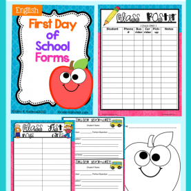 Great First Day Of School Lesson Plans First Day Of School Lesson Plans, Ideas And Freebies | Secon
