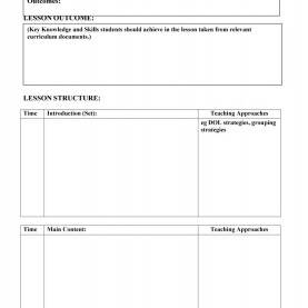 Great Key Learnings Template 44 Free Lesson Plan Templates [Common Core, Preschool, Weekl