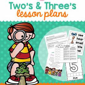 Great Lesson Plans For Teaching 3 Year Olds Two & Three'S 5 Senses Lesson Plans | Activities, School An