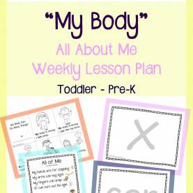 Great Mommy And Me Lesson Plans All About Me - My Body Lesson Plan - From Play Learn Love | Ki