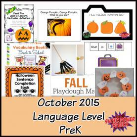 Great Pre K Lesson Plans For October October 2015 Lesson Plans €? Super Power Sp