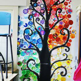 Great Primary Art Projects Hummingbird'S Song: The Blossoming Colour Tree. Primary Art (I Se
