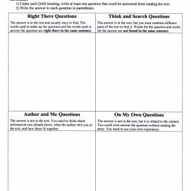 Great Qar Reading Strategy Lesson Plan Brittany'S Esol Strategies Teaching Blog: Esol Strategies Fo