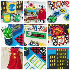 Great Superhero Classroom Ideas Superhero Classroom Theme - Schoolgirls