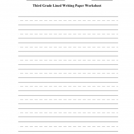 Great Third Grade Writing Activities Writing Worksheets | Lined Writing Paper Worksh