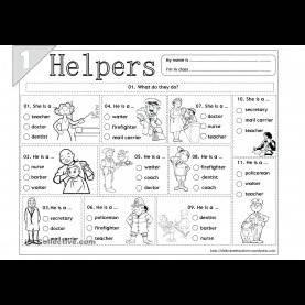 Great Worksheet On Community Helpers For Grade 2 Popular Free Community Helpers Printables Top Ideas