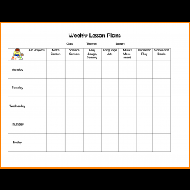 Interesting 3 Year Old Preschool Lesson Plan Template 12+ Preschool Lesson Plan Template | Cover Title