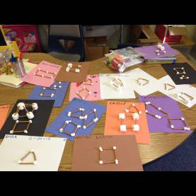 Interesting 3D Shapes Lesson Plan Building 2D & 3D Shapes With Pretzels And Marshmallow