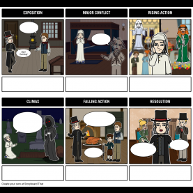 Interesting A Christmas Carol Lesson Plans A Christmas Carol Storyboard By Emmaho