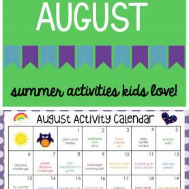 Interesting August Lesson Plans For Toddlers August Activity Calendar - Teaching