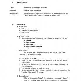 Interesting Detailed Lesson Plan In Mathematics For High School Worksheets For All   Download And Share Worksheets   Free O