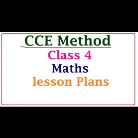 Interesting Lesson Plan According To Cce Cce Method Class 4 Maths Subject Unit / Lesson Plans ~ Ts Dsc Tr