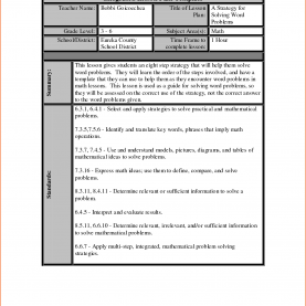 Interesting Lesson Plan Template For Word 7+ Lesson Plan Template Word - Bookletemplate