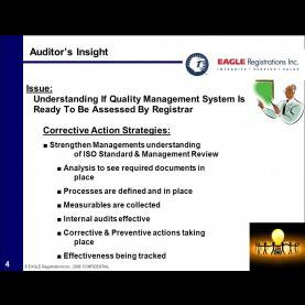 "Interesting Lessons Learned Quality Management Eagle Insight €?Experience Speaks Of Lessons Learned"" - Ppt Vide"