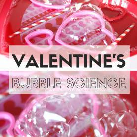 Interesting Science Lesson Plans For Valentine'S Day Valentine Bubble Science Activity - Pre-K P