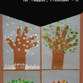 Interesting Seasons Activities For Preschool Seasons - Preschool Science - Learning About Seasons Wee