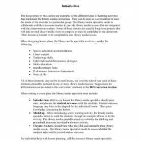 Interesting Study Skills Lesson Plans For High School Lesson Plans €? Introduc