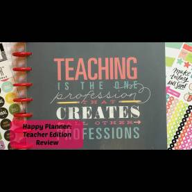 Interesting The Happy Teacher Planner Happy Planner: Teacher Edition - You