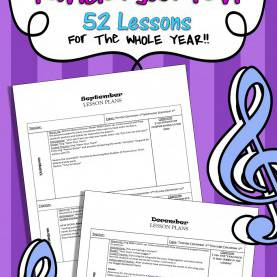 Interesting Topics For Kindergarten Lesson Plans Kindergarten Music Lesson Plans (Set #1) | Kindergarten Musi