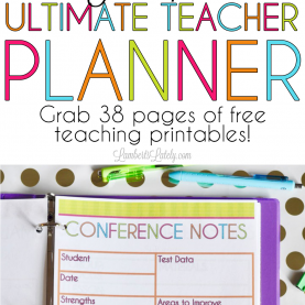 Interesting Ultimate Teacher Planner The 2017-2018 Ultimate Teacher Planner | Printable Teacher Planne