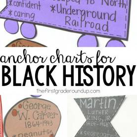 Newest 1St Grade Lesson Plans For Black History Month Black History Month: George Washington Carver Thefirstgraderoundu