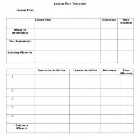 Newest Daily Lesson Plan Form 5 English 44 Free Lesson Plan Templates [Common Core, Preschool, Wee