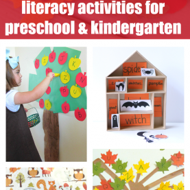 Newest Fall Literacy Activities For Preschool Fall Literacy Activities For Preschool And Kinderga