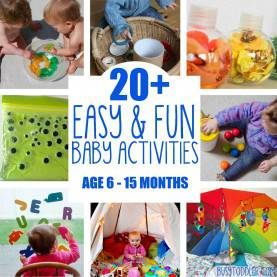 Newest Fun Activities For Infants 20+ Fun & Easy Baby Activities - Busy Tod