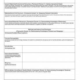 Newest How To Make A Lesson Plan Step By Step Sample Lesson Plan Template Business Templates Common Cor
