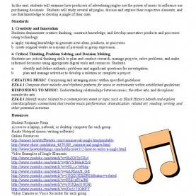 Newest How To Write A Jingle Lesson Plan This Plan Allows Students An Opportunity To Create An Origina