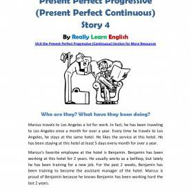 Newest Lesson Plan For Teaching Present Perfect Tense Look!! ~~~ Printable Story And Worksheet To Practice The Englis