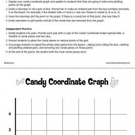 Newest Lesson Plan Form 4 Mathematics Candy Coordinate Graphs Lesson Plan From Lakeshore Learnin