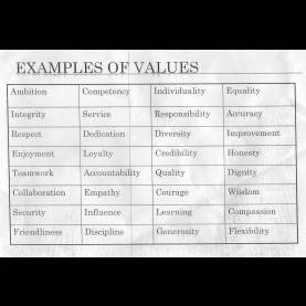 Newest Lesson Plan Values Extra Informa