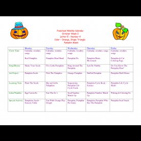 Newest Lesson Plans For Preschool Using Numbers Toddler Lesson Plans For October | Preschool Weekly Calenda