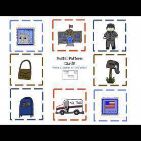 Newest Postman Community Helper Preschool Printables: Community Helper Postman Printabl