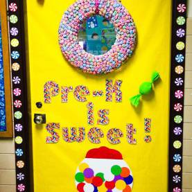 Newest Pre K Classroom Theme Ideas Class Door Teacher Appreciation Week Or Spirit Week. Candy Theme